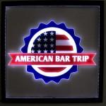 Painel Quadro American Bar Trip