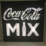 Painel Backlight Coca-Cola Mix