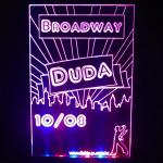 Display Duda broadway