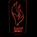 Display Burn Energy Drink