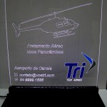 Display Tri Táxi Aéreo (branco)