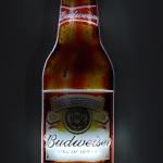 Display Garrafa Budweiser Iluminada