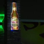 Display Garrafa Skol Iluminada