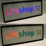 Painel Quadro Life Shop