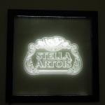 Painel Quadro Stella Artois Quadrado