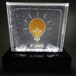 Troféu de LED com efeito de Gel