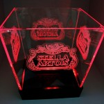 Balde de LED Stella Artois Vermelho
