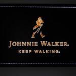 Painel Quadro Johnnie Walker Fundo Preto