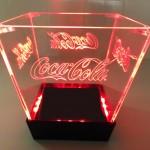 Balde de LED Coca-Cola