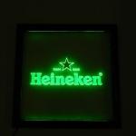 Painel Quadro Heineken Quadrado