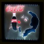 Painel Quadro Coca-Cola Retrô