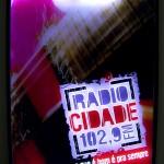 Painel Quadro Rádio Cidade - RJ