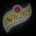 Painel Backlight Schweppes