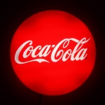 Painel Backlight Coca-Cola